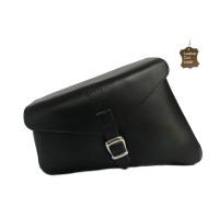 Side Panniers Bag Leather Left Black Ranger 5.5 ltr